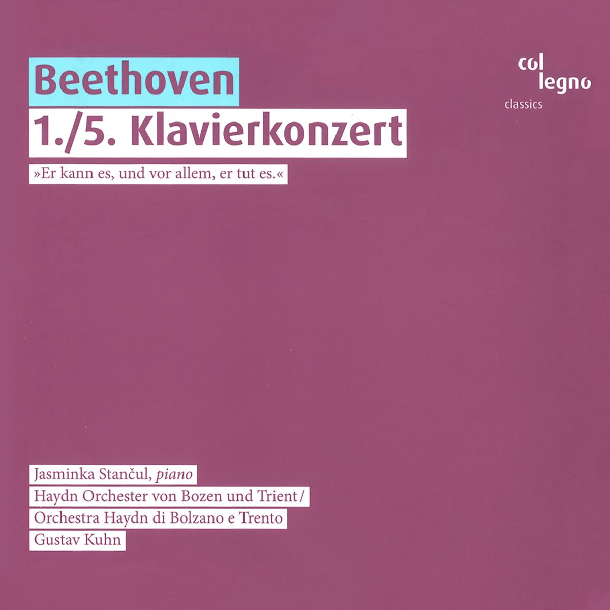 Ludwig van Beethoven - 1./5. Klavierkonzert
