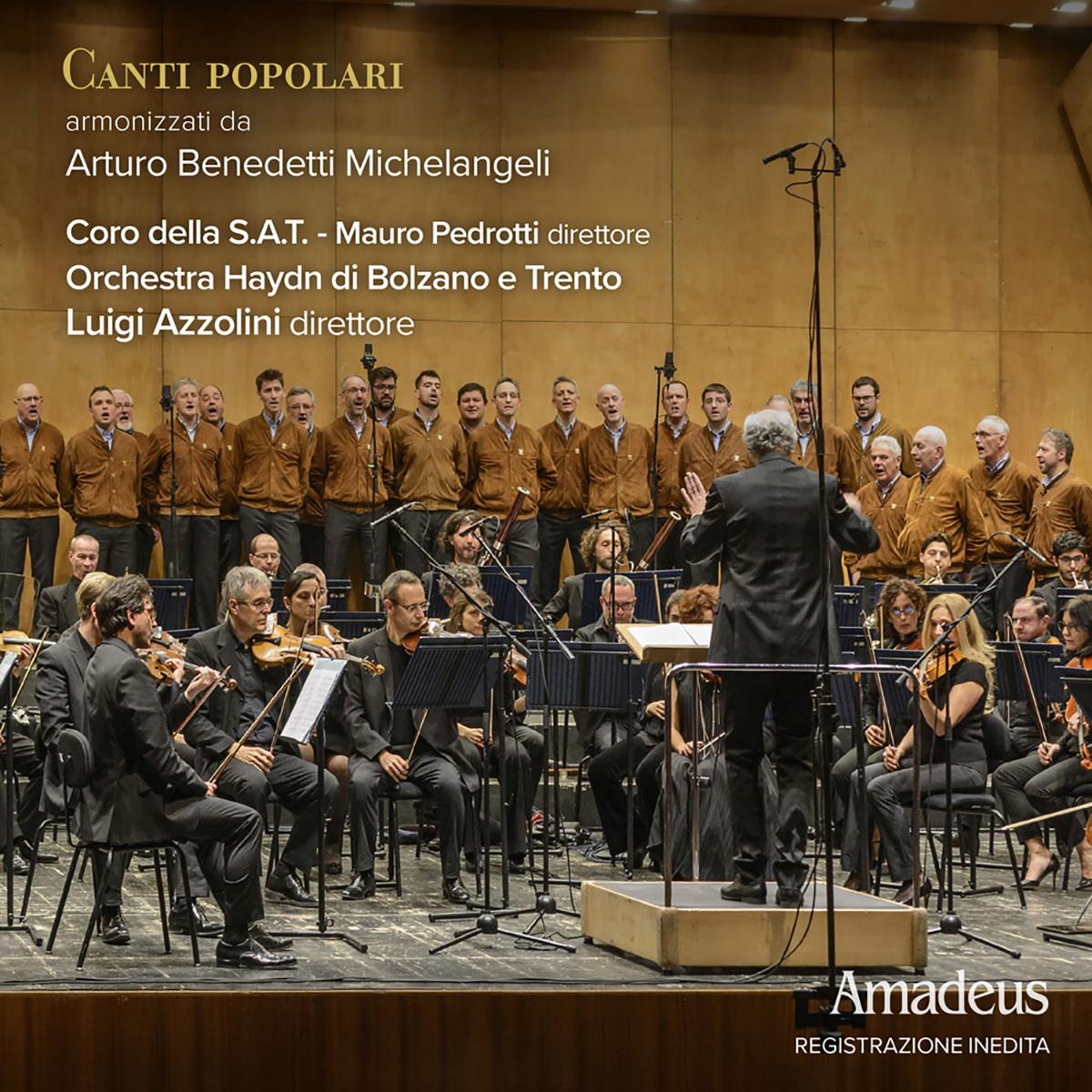 Canti popolari armonizzati da Arturo Benedetti Michelangeli