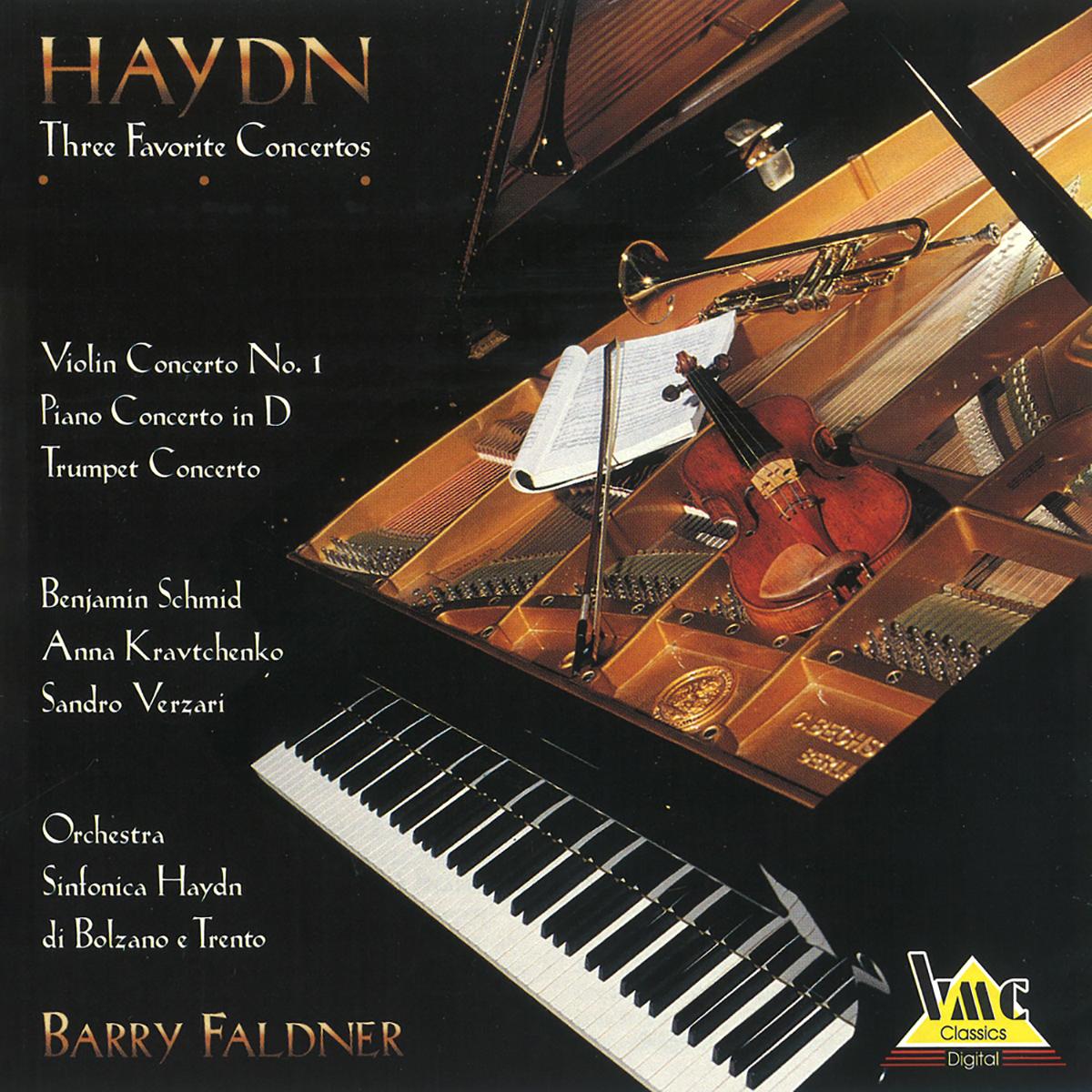 Haydn - Concerto per violino n. 1, Concerto per pianoforte n. 1, Concerto per tromba